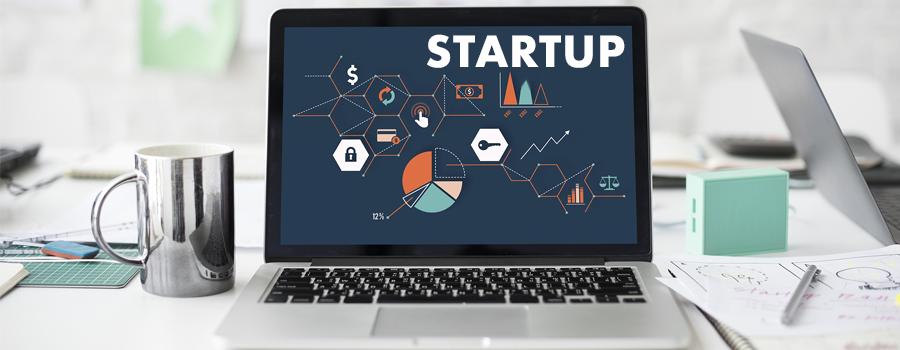 startup - características
