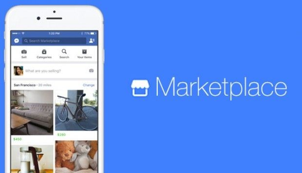 Canales de venta - Marketplace - Facebook